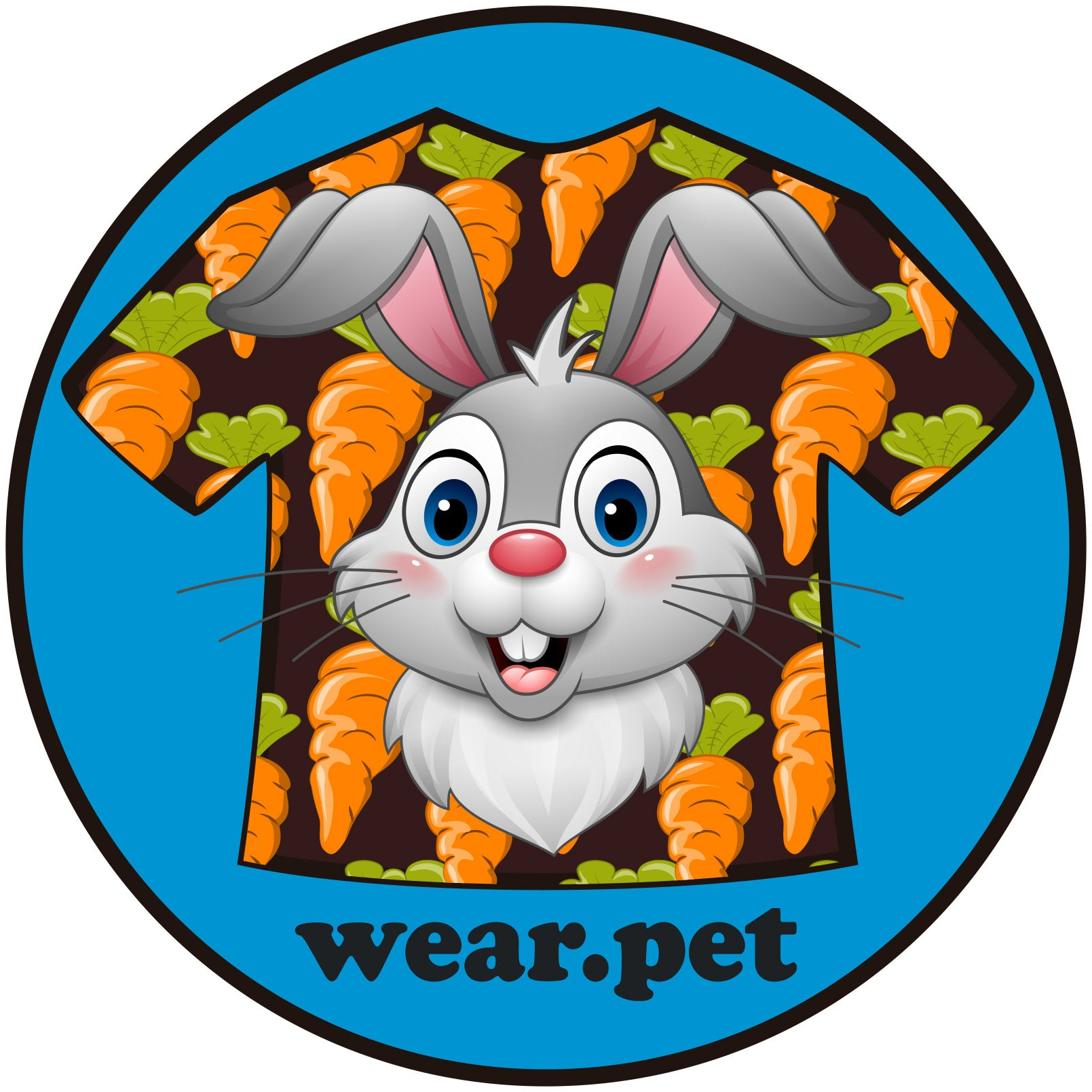 Logo Instagram of Wear Pet Bunnies - Wear Pet Online Pet Store for Animal Lovers