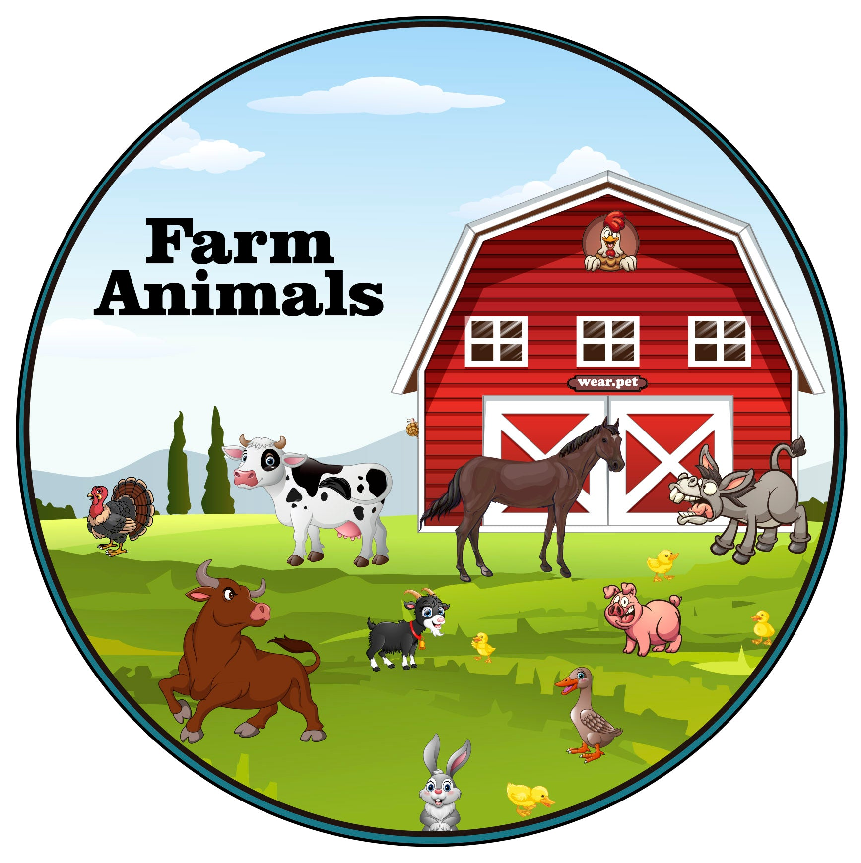 Logo Instagram of Wear Pet Farm Animals - Wear Pet Online Pet Store for Animal Lovers