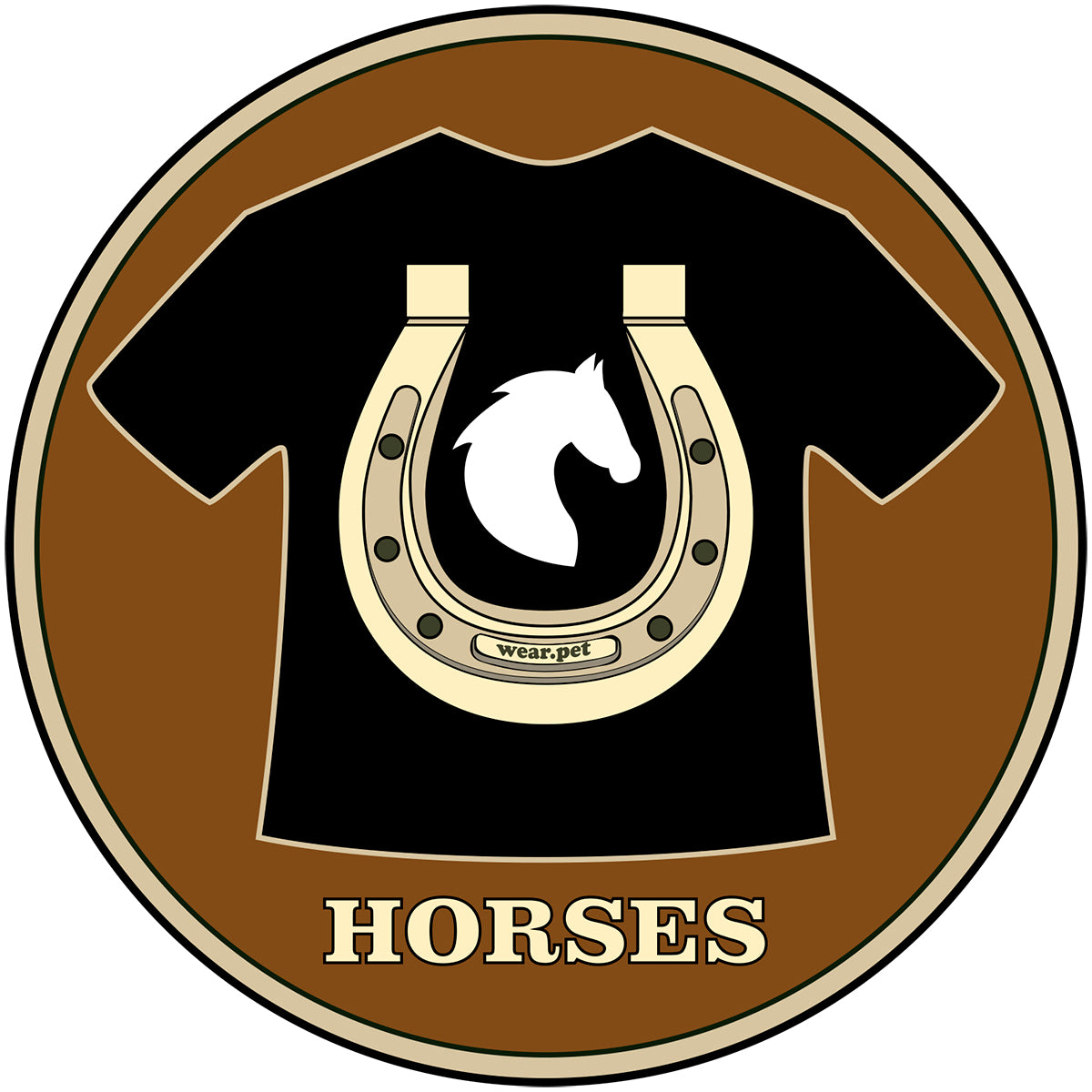 Logo Instagram of Wear Pet Horses - Wear Pet Online Pet Store for Animal Lovers