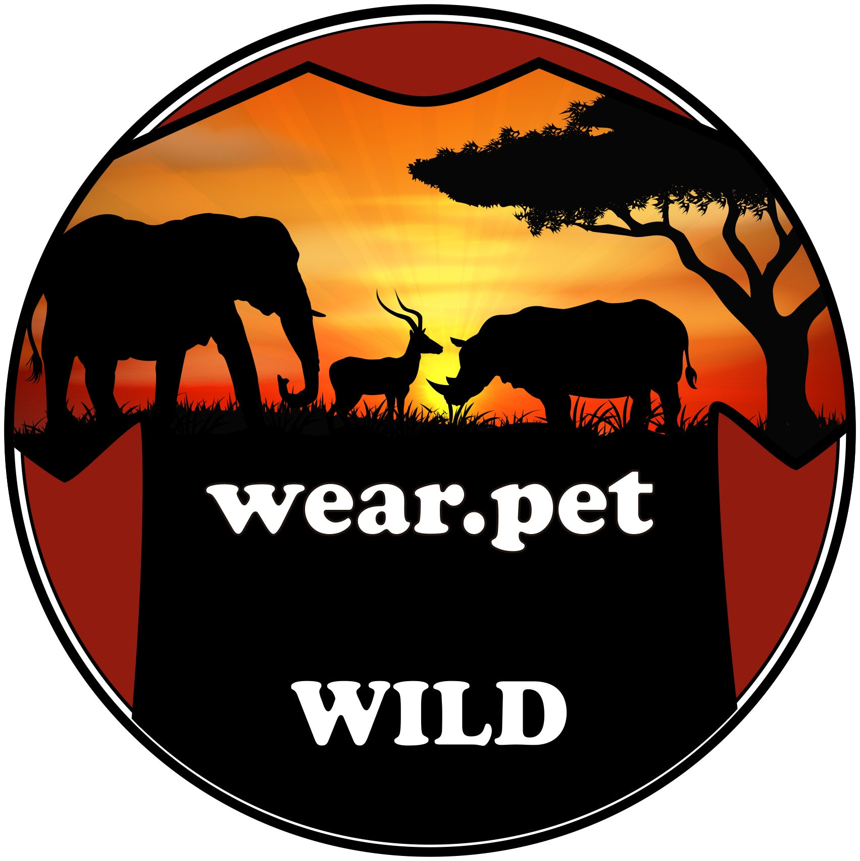 Logo Instagram of Wear Pet Wild Animals - Wear Pet Online Pet Store for Animal Lovers