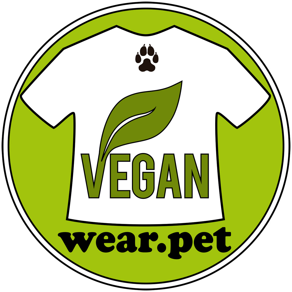 Logo Instagram of Wear Pet Vegan - Wear Pet Online Pet Store for Animal Lovers