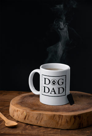 DOG DAD - 11oz White Mug -- Wear Pet