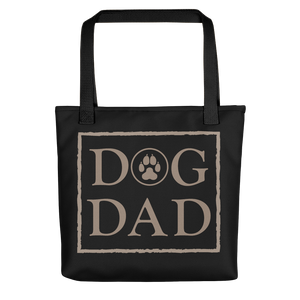 Dog DAD - Black & Caki - Tote Bag - Wear Pet