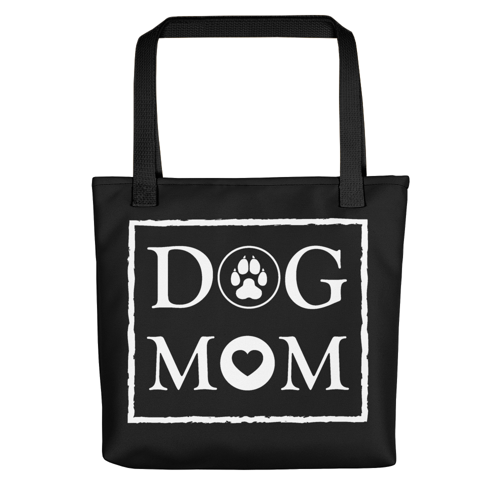 Dog MOM - Black & White - Tote Bag - Wear Pet