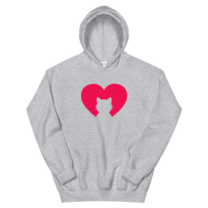 I Love my Cat - Unisex Pullover Hoodie - Wear Pet
