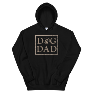 DOG DAD - Black Pullover Hoodie - Wear Pet