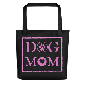 Dog MOM - Black & Violet - Tote Bag - Wear Pet
