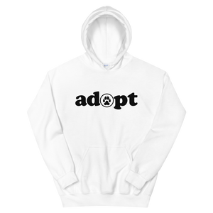 ADOPT- Different Light colors Unisex Pullover Hoodie - Wear Pet