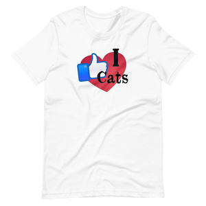 I Like CATs - Unisex T-Shirt - Wear Pet