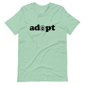 ADOPT - Light Colors Unisex T-Shirt - Wear Pet