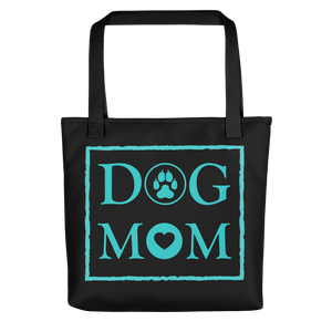 DOG MOM - Black & Green - Tote Bag - Wear Pet