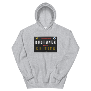 DOG WALK ON TIME - Unisex Pullover Hoodie