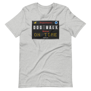 DOG WALK - ON TIME --- Men's T-Shirt
