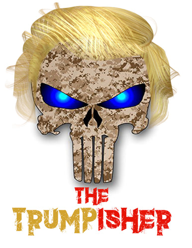 Trumpisher t-shirt Large