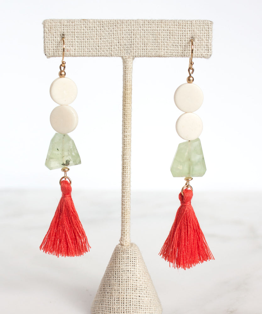 Hampton Tassel Drop Earrings