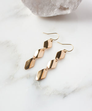 Chloe Twist Drop Earrings