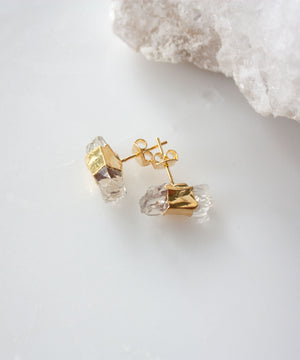 Gia Crystal Bar Earrings
