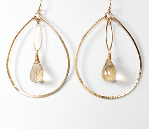 Load image into Gallery viewer, Genevieve Marquis Drop Earrings