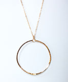 Catalina Circle Necklace | 2