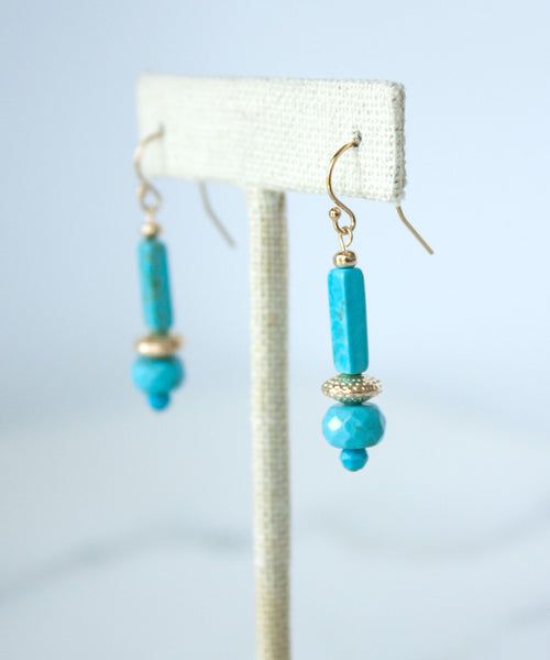 Catalina Column Earrings
