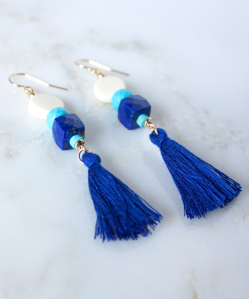 Catalina Tassel Drop Earrings