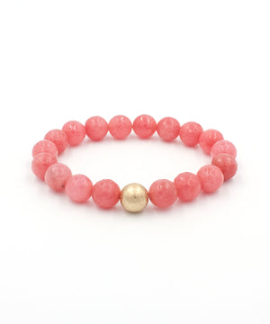 Load image into Gallery viewer, Shimmer Stack Bracelet | Coral Jade