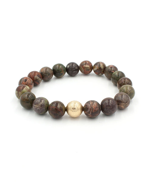 On Point Stack Bracelet | Australian Agate