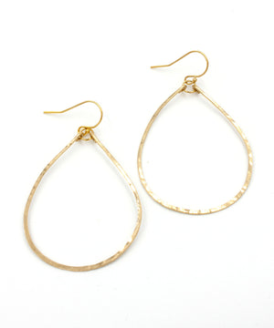 Olivia Petite Teardrop Earrings 1.75""