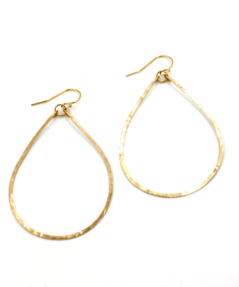Olivia Medium Teardrop Earrings 2.25""