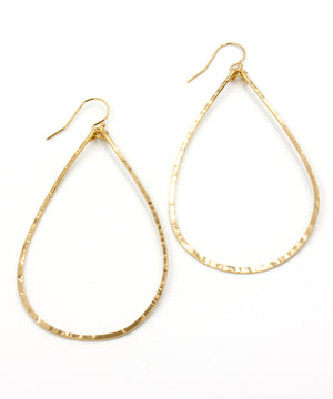 Load image into Gallery viewer, Olivia Large Teardrop Earrings 2.5"