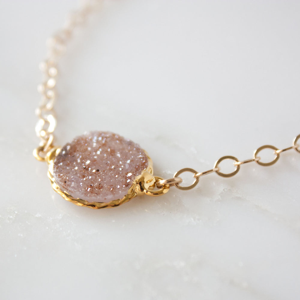 Load image into Gallery viewer, Rey Druzy Chain Bracelet