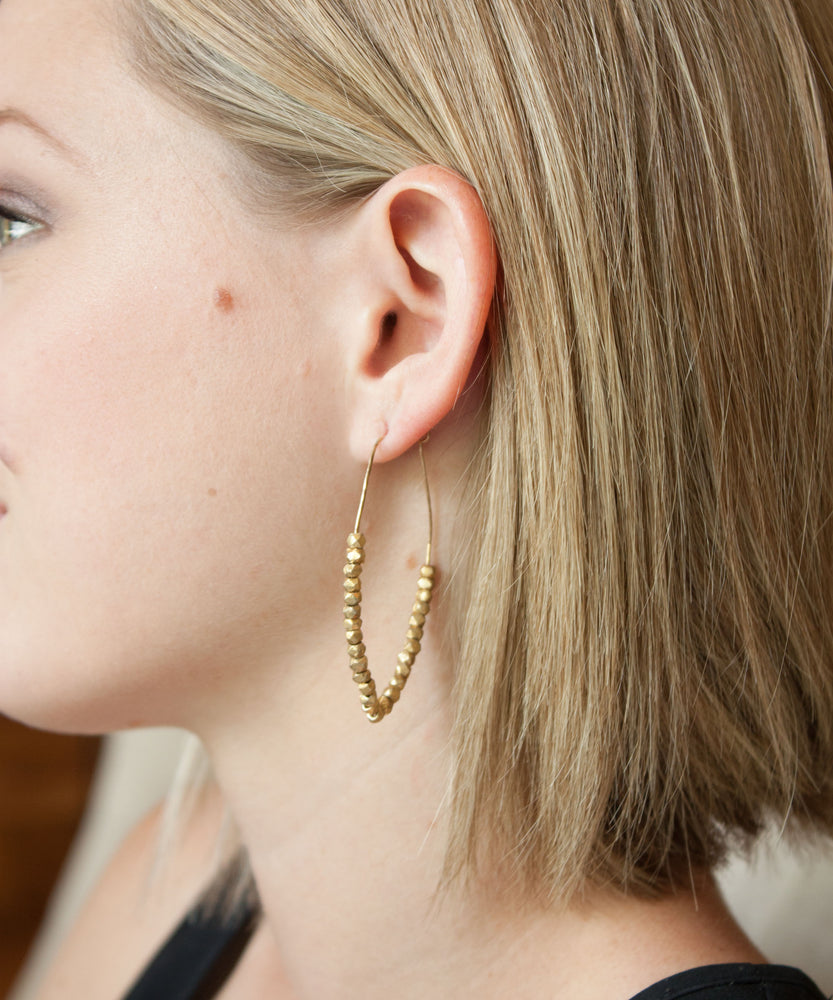 Load image into Gallery viewer, Jane Drop Point Earrings