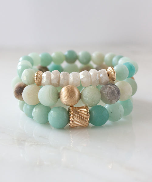 Sanibel Stack Bracelet Set