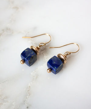 Adele Gem Drop Earrings