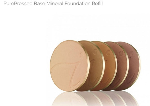Jane Iredale PurePressed Base Mineral Foundation, refill, clearance