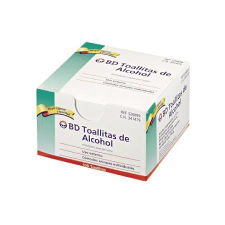 Toallitas de Alcohol BD Swabs