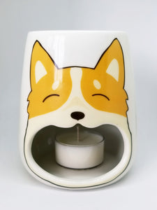 Corgi candle wax tart warmer melter