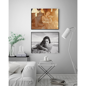 ashley graham art print fashion vintage wall art living room home decor