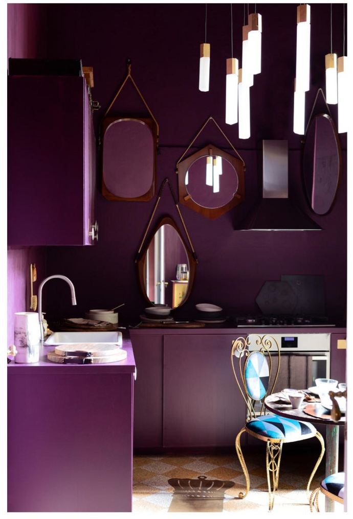 Create a Space Where Clashing Hues Exist in Harmony
