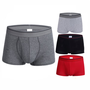 Men'3 Pack Underwear With Front Hole 95% Cotton
