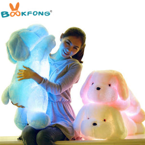 Night Light LED Lovely Dog Toys  for Kids