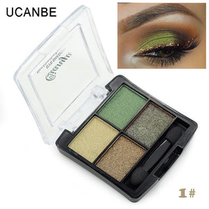 Professional 4 Colors Fashion Glitter Eyeshadow