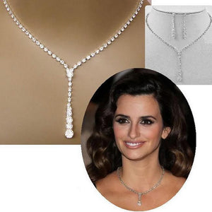 Silver Tone Necklace Set