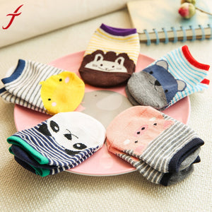 Fashion Unique Girls Boys Cartoon Socks