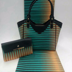 New women purses and handbags african wax bag