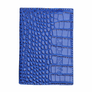 Passport Cover Leather Business Card Holder