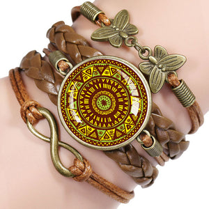 Bracelets Mandala Charm For Women