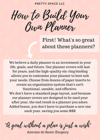 How To Build Your Own Custom Daily Planner