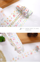 """Dreamy Watercolor"" Washi Tape Set of FOUR"