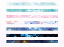 """The Sky Isn't Always Blue"" Washi Tape Rolls - 7 Piece Set"